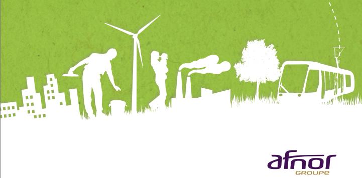 TPE/PME & Environnement : l'AFNOR pense à vous