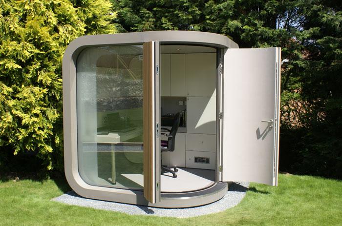 Télétravail : et si vous installiez votre bureau… dans votre jardin !