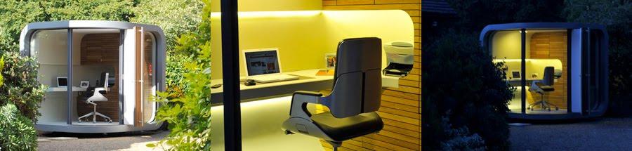 t l travail et si vous installiez votre bureau dans votre jardin. Black Bedroom Furniture Sets. Home Design Ideas