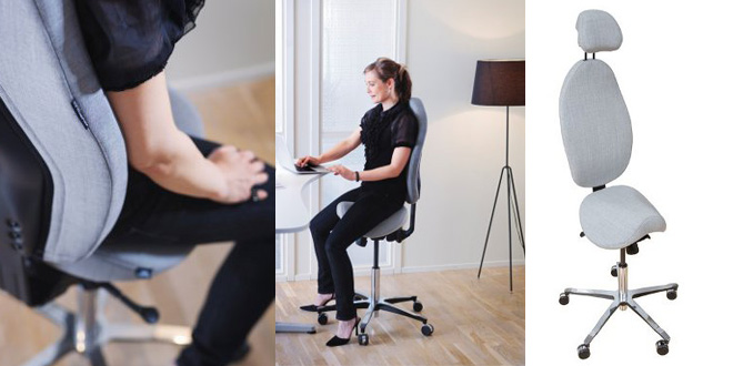 La nouvelle tendance des sièges assis-debout