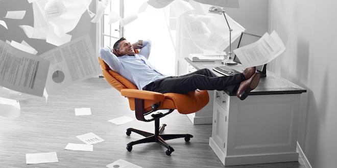 Stressless lance une gamme de fauteuils de… BUREAU. Confort assuré !