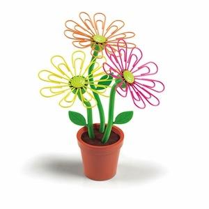 pot fleurs trombones