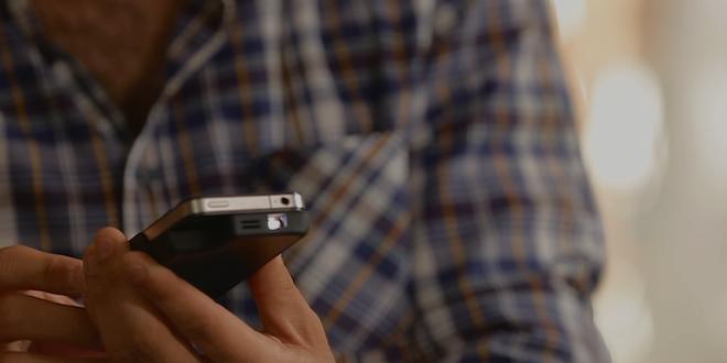 Un étui projecteur mobile pour les utilisateurs d'iPhone