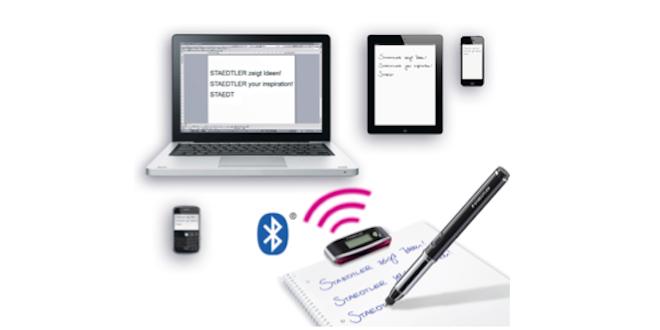 Le Digital Pen 2.0, et vos écrits se retrouvent directement sur l'ordinateur !